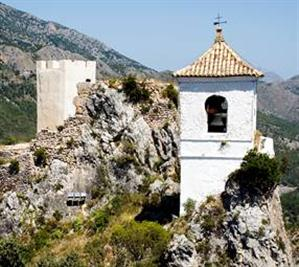 The Muslim castle in Guadalest