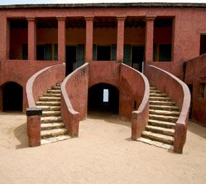 The Slave Trade Museum on Goree Island