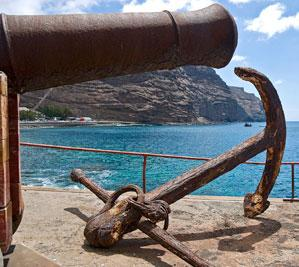 Old Cannon and Anchor