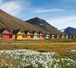 Typical architecture in Svalbard