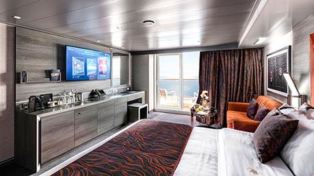 MSC YACHT CLUB WELLNESS DELUXE APARTMAN*