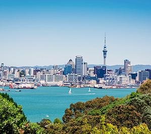 City of Auckland view from Devonport