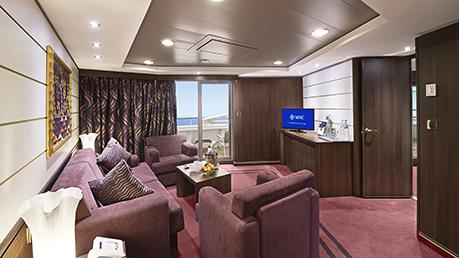 MSC YACHT CLUB ROYAL APARTMAN