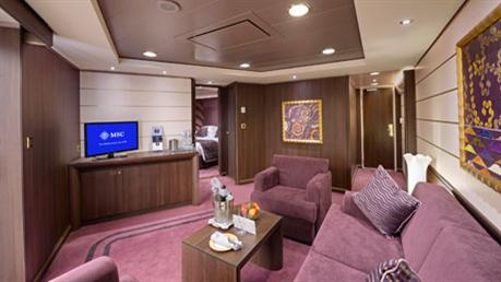 MSC YACHT CLUB APARTMAN ROYAL